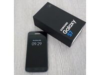 Unlocked Samsung Galaxy S7 - BLACK ONYX - G930F - Mobile phone excellent cond
