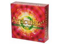 Brand New Board Games - Logo Game, Articulate, Trivial Pursuit Family Edition