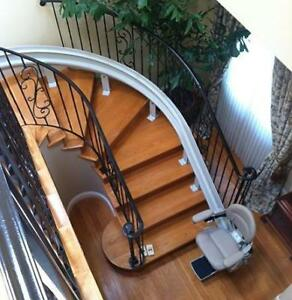 Stair Lifts - Curved & Straight, Porch Lifts - (416) 267-9800