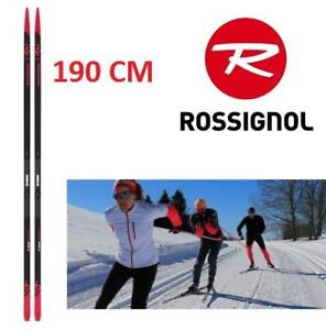 NEW ROSSIGNOL CROSS COUNTRY SKIS RHHCS06 229578250 190CM R-SKIN PREMIUM CROSSCUTS SKIING WINTER SKIS ONLY