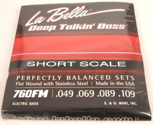 Wanted: Short Scale Flatwound Bass Strings