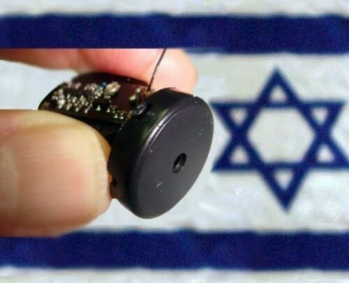 Wall and Glass Spy Bug covert transmitter hear through windows MADE IN ISRAEL !