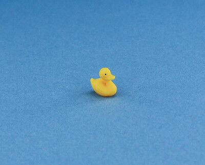 Cute Little Dollhouse Miniature 1:12 Scale Bathtime Duck #WCBA136