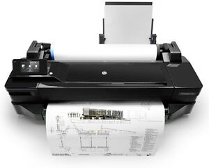 "Brand new HP DesignJet T120 - 24"" wide printer"