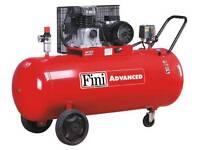 Fini petrol compressor also 3 phase and single