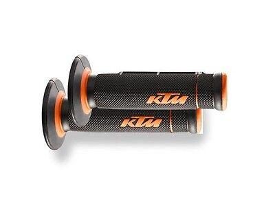 OEM KTM 2K CLOSED END COMPOUND HAND GRIPS SET 2009-2018 KTM 50 65 63002021100