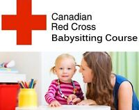 CANADIAN RED CROSS BABYSITTING COURSE | November 19 9am