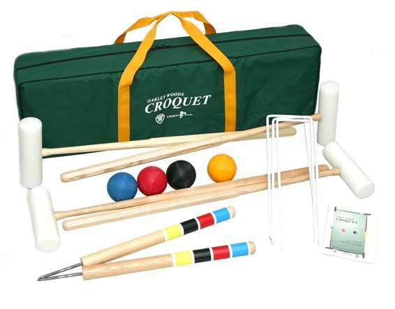 Extreme croquet set by Oakley Woods Croquet (4 player)
