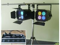 Stage/Gig/Studio Lighting Unit/Controller and Stand