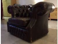 Chesterfield club chair