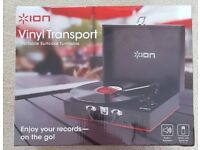 NEW ION Vinyl Transport Portable Suitcase Turntable