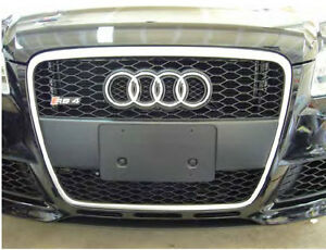 B7 A4/S4/RS4 Front license plate holder