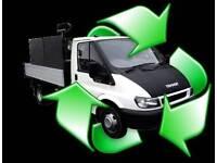 Rubbish removels same day up lifts man & van