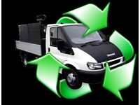 ✅📞RUBBISH WASTE Removal services clearances tip runs house office garden man & van Collection