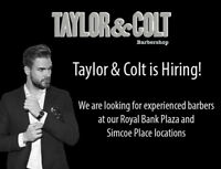 Barbers Wanted