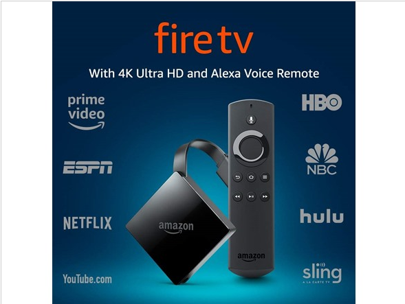 All-New Fire TV with 4K Ultra HD and Alexa Voice Remote  | S