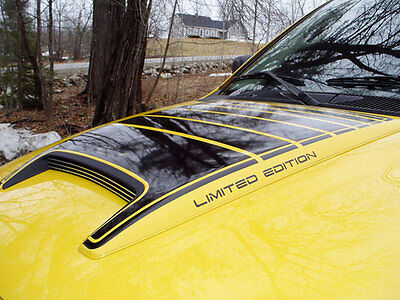 Hood & Limited Ed. Decals For Dodge Ram Rumble Bee
