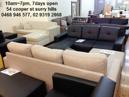 New Great Quality Bondi L-shape sofa and sofa bed Bondi Eastern Suburbs Preview