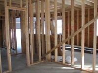 FRAMING / DRYWALL / CEILING / PAINTING