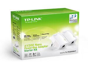 Internet/Ethernet/Nic Powerline Adapters kit of 4pcs $40