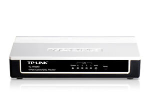 TP Link 4-Port Cable/DSL Router