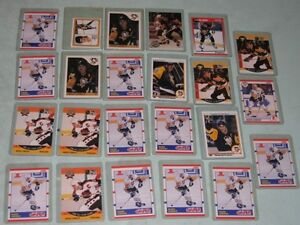 Mario Lemieux - hockey cards - 23 in top loaders -