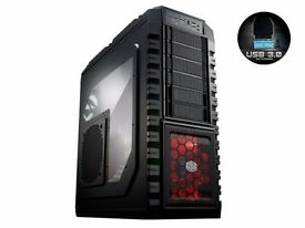 Cooler Master HAF X - Full Tower - Extended ATX Gaming PC Case