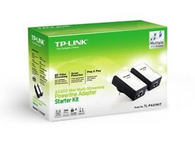 ::: TWIN PACK TP-LINK AV200 MINI POWERLINE ADAPTERS :::