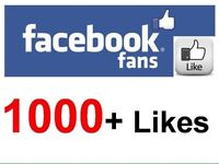 Facebook likes 100% real
