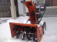 Snowblower repairs and more Winnipeg Manitoba