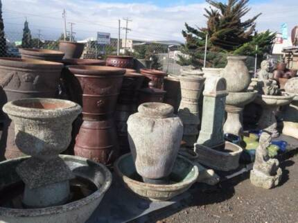 OUTDOOR POTS 30-50% OFF TROUGH FISH PONDS WATER FEATURES FIRE BOW Hoppers Crossing Wyndham Area Preview