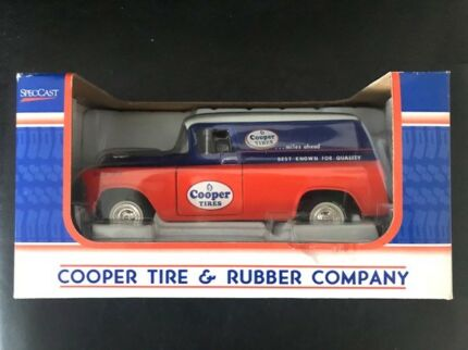 SpecCast Cooper Tires Chevrolet Van Collectable Car **RARE - NEW