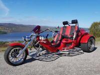 Rewaco RF1 LT3 TOUR 3-Seater 1600cc Trike