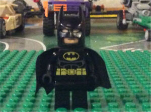 LEGO Batman Mini figure (Original Cowl)
