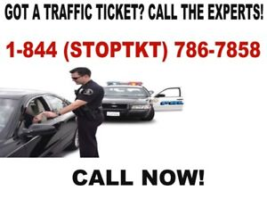 LET US HELP YOU FIGHT YOUR TRAFFIC TICKET! CALL 1-844-786-7858