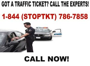 TRAFFIC TICKETS? WE CAN HELP! CALL 1-844-786-7858