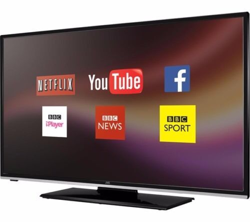 """JVC LT 40C750 Smart 40"""" LED Tv Full HD Freeview HD Built in WiFi USB HDMI BlackRRP350in Oadby, LeicestershireGumtree - JVC LT 40C750 Smart 40"""" LED Tv Full HD Freeview HD Built in WiFi USB HDMI Black RRP £350 It has been fully tested and it is in excellent working condition. It comes with its original box, power cable , stand and remote control. This JVC LT 40C750..."""