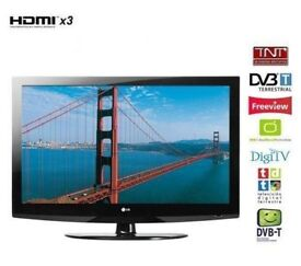 """LG 32"""" inch Full HD 1080p LCD TV, Freeview built in, 3 x HDMI not 28, 37 39 May Deliver"""