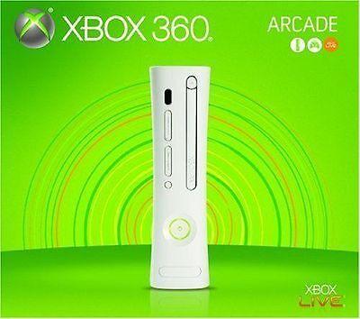 Xbox 360 256MB Arcade Console - White [Xbox 360 VINTAGE , XGX-00069, Gen 1] NEW