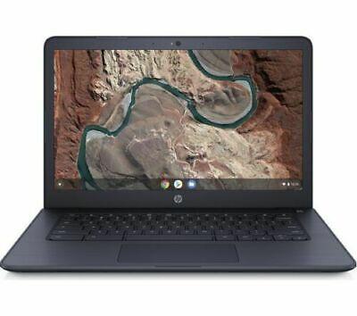 """HP 14-db0500sa 14"""" AMD A4-9120 Chromebook 32 GB eMMC 4GB RAM - Ink Blue"""