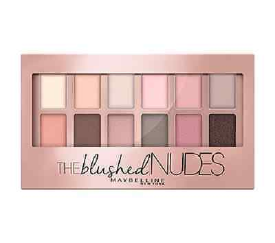(1) Maybelline The Blushed Nudes Eyeshadow Palette!
