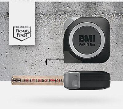Taschenbandmaß Vario 5m mit Feststeller BMI