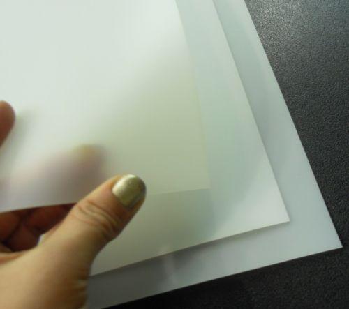 Flexible Plastic Sheet Ebay