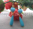 Blue Jade Fashion Earrings