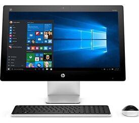"""HP Pavilion 23-Q055na 23"""" Touchscreen All-in-One PC - Intel® Core™ i5-4460T Processor Quad-Core"""