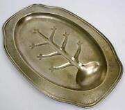 Silver Meat Serving Tray