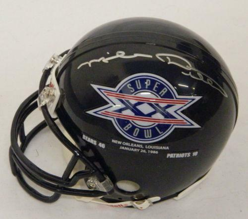 Super Bowl Autographed Mini Helmets Ebay