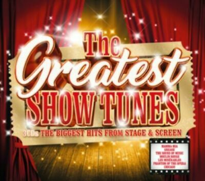 Greatest Show Tunes - The Biggest Hits From Stage & Screen [New & Sealed] 3CD