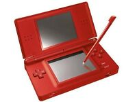 DS LITE RED + MANY CONTAINERS + PENS