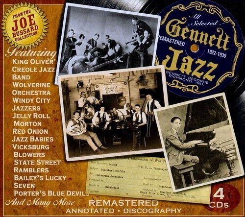 Various Artists - Gennett Jazz / Various [New CD] Boxed Set, Rmst